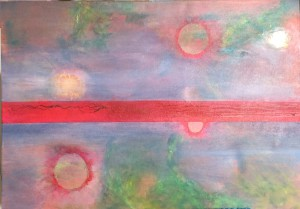 """""""Nearly there"""" 50x70"""