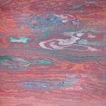 Himmel og hav 60x60 (wood)